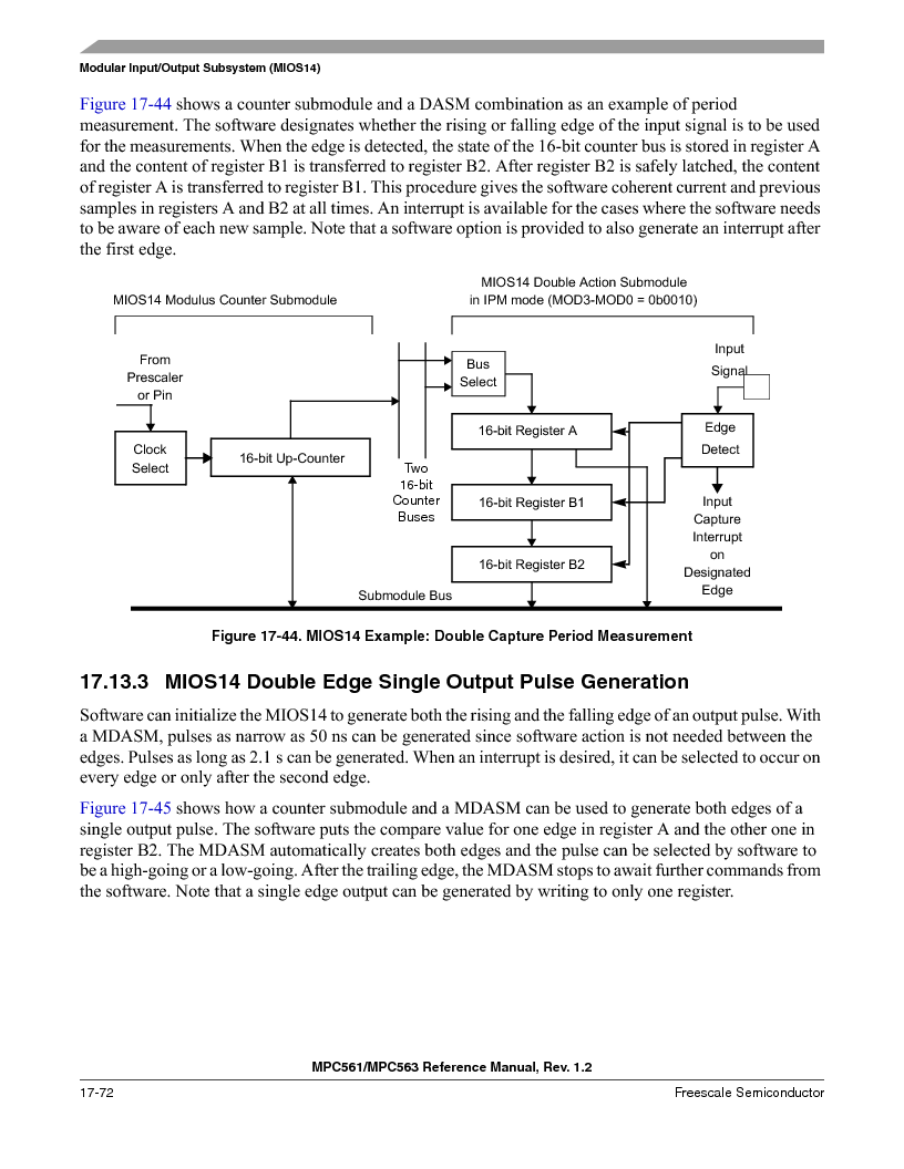 MPC563MZP56 ,Freescale Semiconductor厂商,IC MCU 512K FLASH 56MHZ 388-BGA, MPC563MZP56 datasheet预览  第804页