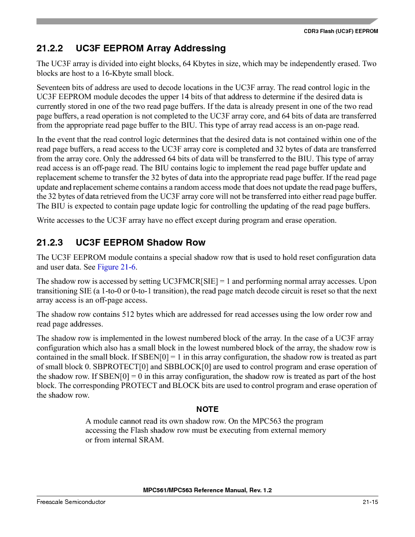 MPC563MZP56 ,Freescale Semiconductor厂商,IC MCU 512K FLASH 56MHZ 388-BGA, MPC563MZP56 datasheet预览  第877页