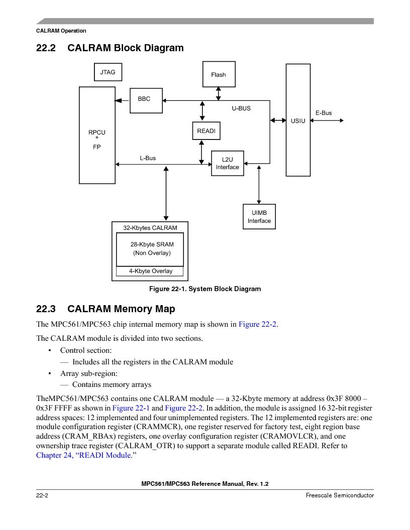 MPC563MZP56 ,Freescale Semiconductor厂商,IC MCU 512K FLASH 56MHZ 388-BGA, MPC563MZP56 datasheet预览  第898页