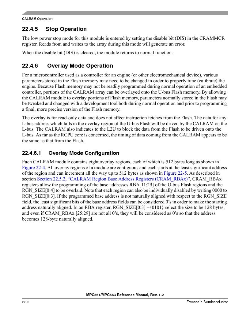 MPC563MZP56 ,Freescale Semiconductor厂商,IC MCU 512K FLASH 56MHZ 388-BGA, MPC563MZP56 datasheet预览  第902页