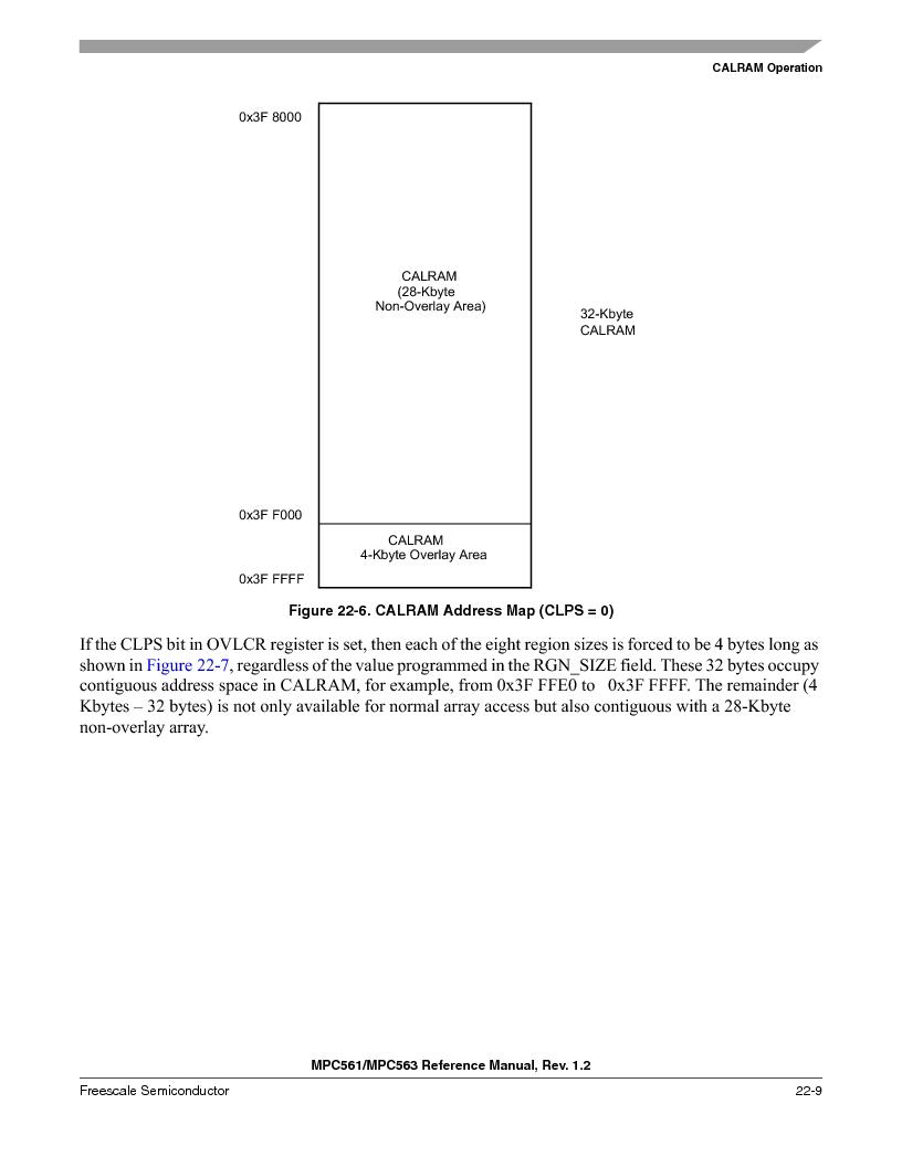 MPC563MZP56 ,Freescale Semiconductor厂商,IC MCU 512K FLASH 56MHZ 388-BGA, MPC563MZP56 datasheet预览  第905页