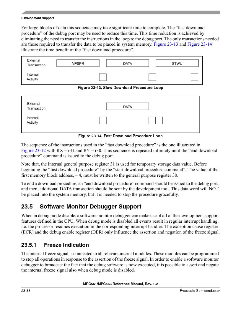 MPC563MZP56 ,Freescale Semiconductor厂商,IC MCU 512K FLASH 56MHZ 388-BGA, MPC563MZP56 datasheet预览  第952页