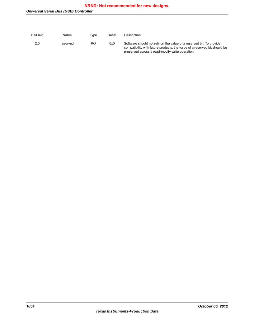 LM3S9BN6-IBZ80-C3T ,Texas Instruments厂商,IC ARM CORTEX MCU 256KB 108NFBGA, LM3S9BN6-IBZ80-C3T datasheet预览  第1054页