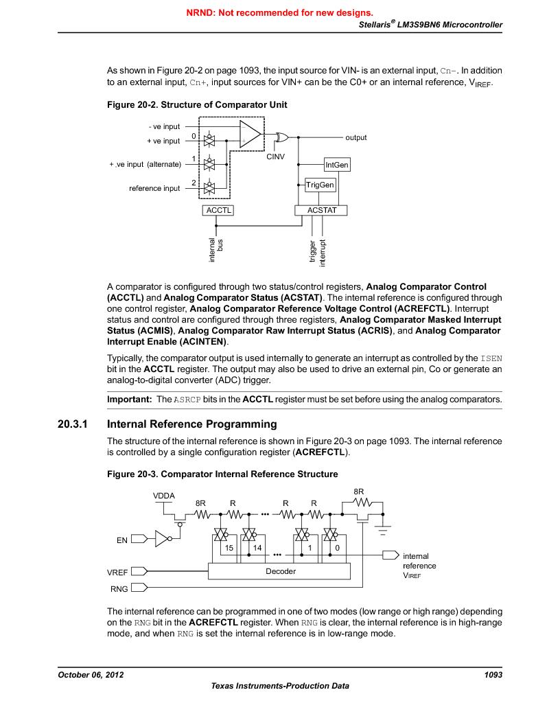LM3S9BN6-IBZ80-C3T ,Texas Instruments厂商,IC ARM CORTEX MCU 256KB 108NFBGA, LM3S9BN6-IBZ80-C3T datasheet预览  第1093页