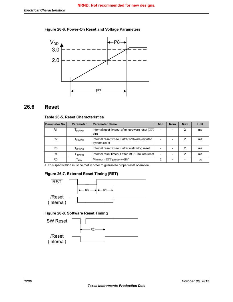 LM3S9BN6-IBZ80-C3T ,Texas Instruments厂商,IC ARM CORTEX MCU 256KB 108NFBGA, LM3S9BN6-IBZ80-C3T datasheet预览  第1296页