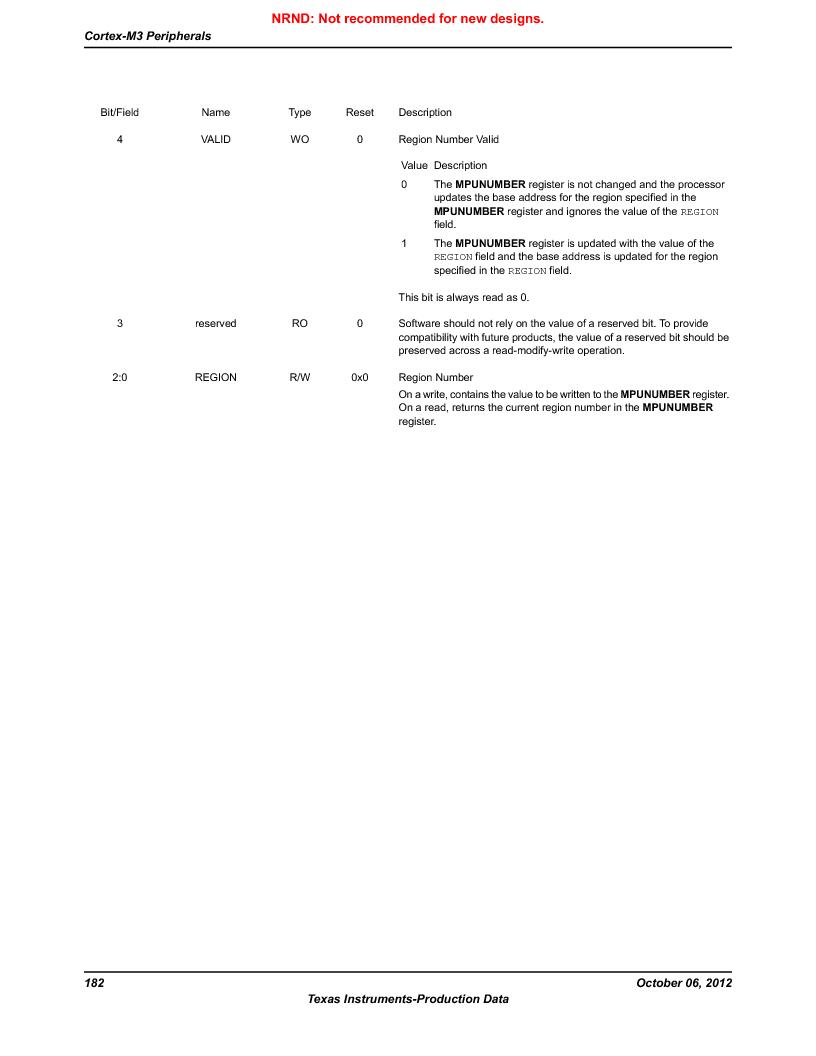 LM3S9BN6-IBZ80-C3T ,Texas Instruments厂商,IC ARM CORTEX MCU 256KB 108NFBGA, LM3S9BN6-IBZ80-C3T datasheet预览  第182页