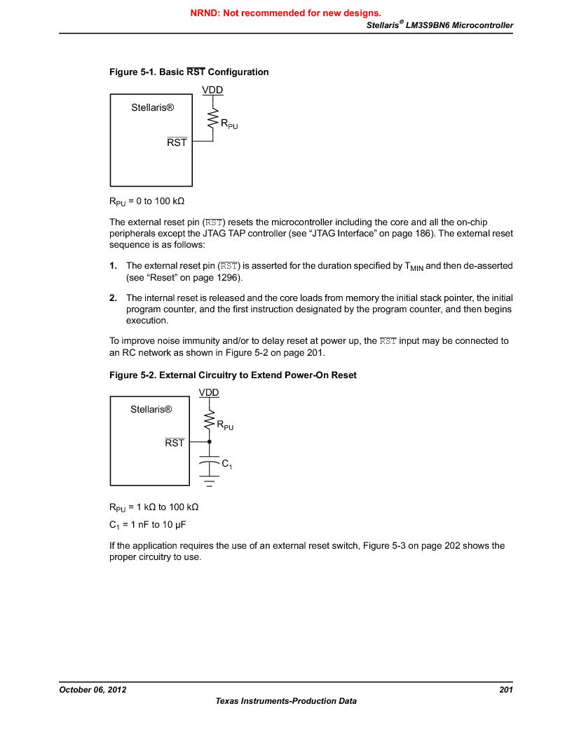 LM3S9BN6-IBZ80-C3T ,Texas Instruments厂商,IC ARM CORTEX MCU 256KB 108NFBGA, LM3S9BN6-IBZ80-C3T datasheet预览  第201页