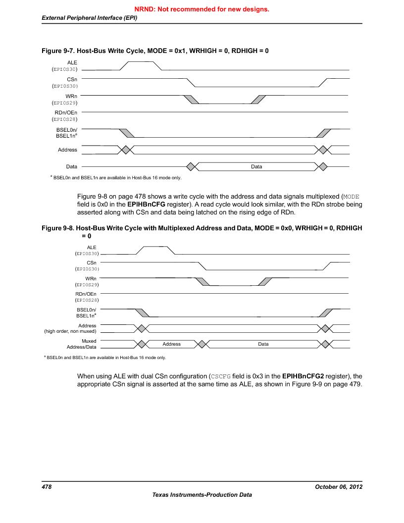 LM3S9BN6-IBZ80-C3T ,Texas Instruments厂商,IC ARM CORTEX MCU 256KB 108NFBGA, LM3S9BN6-IBZ80-C3T datasheet预览  第478页