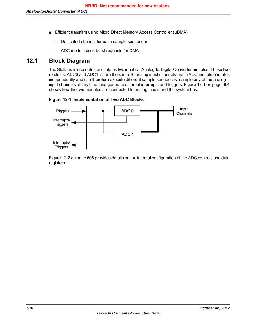 LM3S9BN6-IBZ80-C3T ,Texas Instruments厂商,IC ARM CORTEX MCU 256KB 108NFBGA, LM3S9BN6-IBZ80-C3T datasheet预览  第604页
