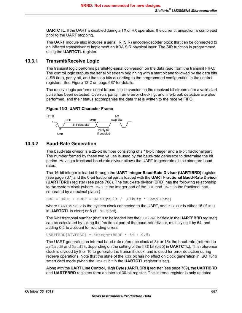 LM3S9BN6-IBZ80-C3T ,Texas Instruments厂商,IC ARM CORTEX MCU 256KB 108NFBGA, LM3S9BN6-IBZ80-C3T datasheet预览  第687页