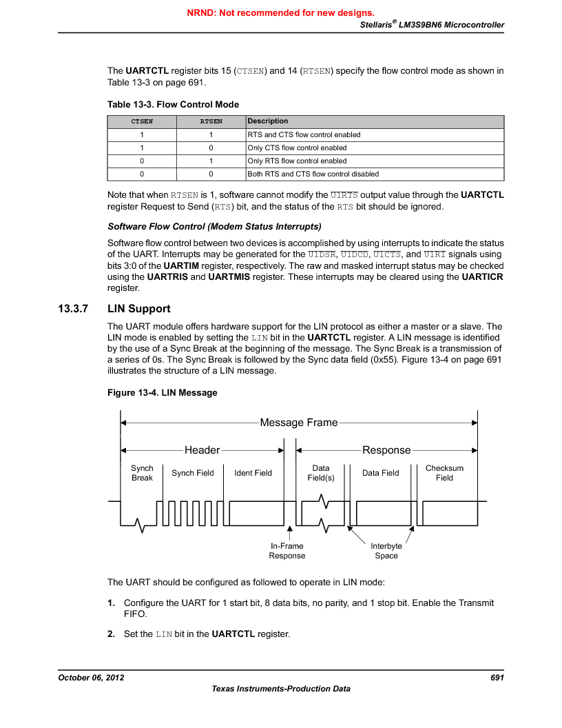LM3S9BN6-IBZ80-C3T ,Texas Instruments厂商,IC ARM CORTEX MCU 256KB 108NFBGA, LM3S9BN6-IBZ80-C3T datasheet预览  第691页