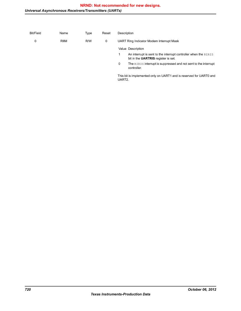 LM3S9BN6-IBZ80-C3T ,Texas Instruments厂商,IC ARM CORTEX MCU 256KB 108NFBGA, LM3S9BN6-IBZ80-C3T datasheet预览  第720页
