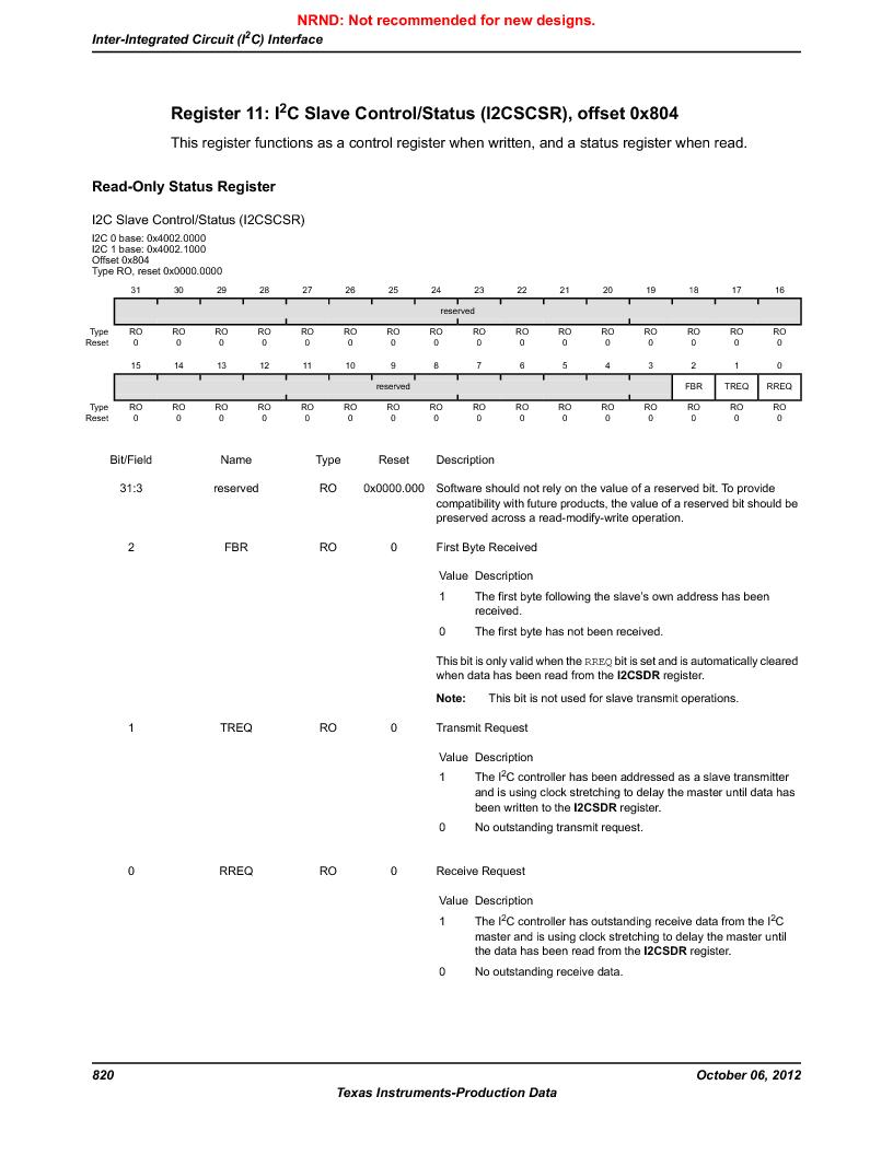 LM3S9BN6-IBZ80-C3T ,Texas Instruments厂商,IC ARM CORTEX MCU 256KB 108NFBGA, LM3S9BN6-IBZ80-C3T datasheet预览  第820页