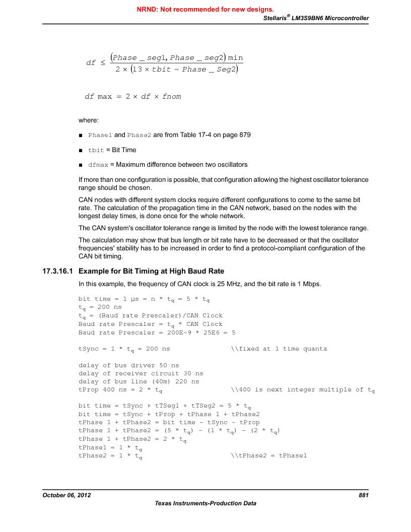 LM3S9BN6-IBZ80-C3T ,Texas Instruments厂商,IC ARM CORTEX MCU 256KB 108NFBGA, LM3S9BN6-IBZ80-C3T datasheet预览  第881页