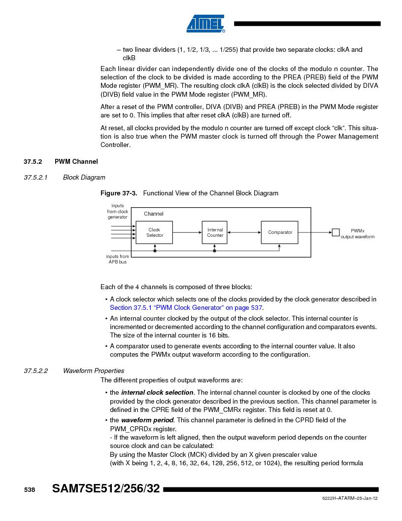 AT91SAM7SE256B-CUR ,Atmel厂商,IC ARM7 MCU FLASH 256K 128-LQFP, AT91SAM7SE256B-CUR datasheet预览  第538页