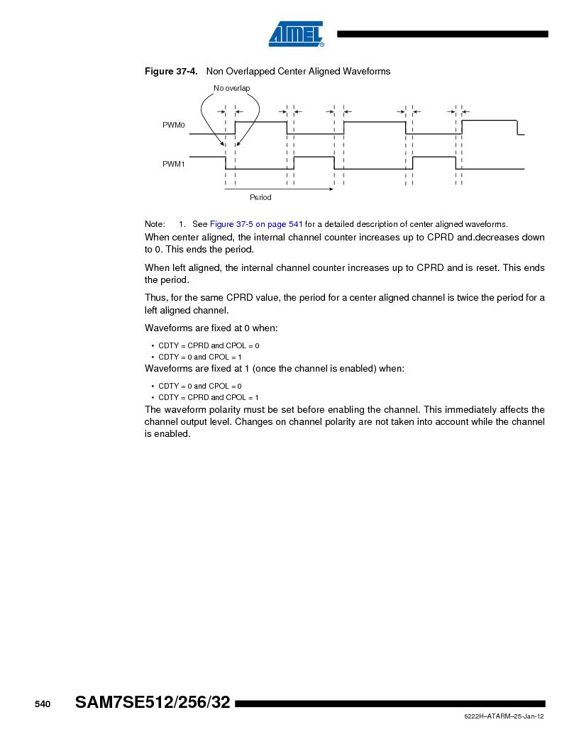 AT91SAM7SE256B-CUR ,Atmel厂商,IC ARM7 MCU FLASH 256K 128-LQFP, AT91SAM7SE256B-CUR datasheet预览  第540页