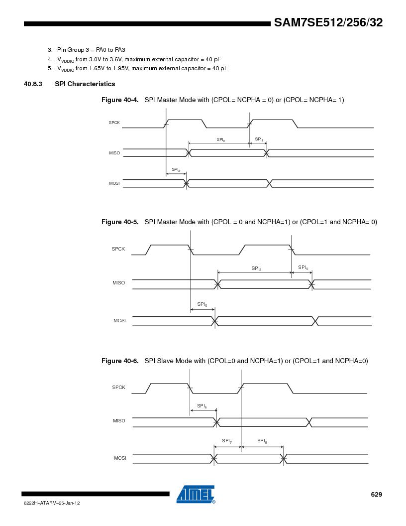 AT91SAM7SE256B-CUR ,Atmel厂商,IC ARM7 MCU FLASH 256K 128-LQFP, AT91SAM7SE256B-CUR datasheet预览  第629页