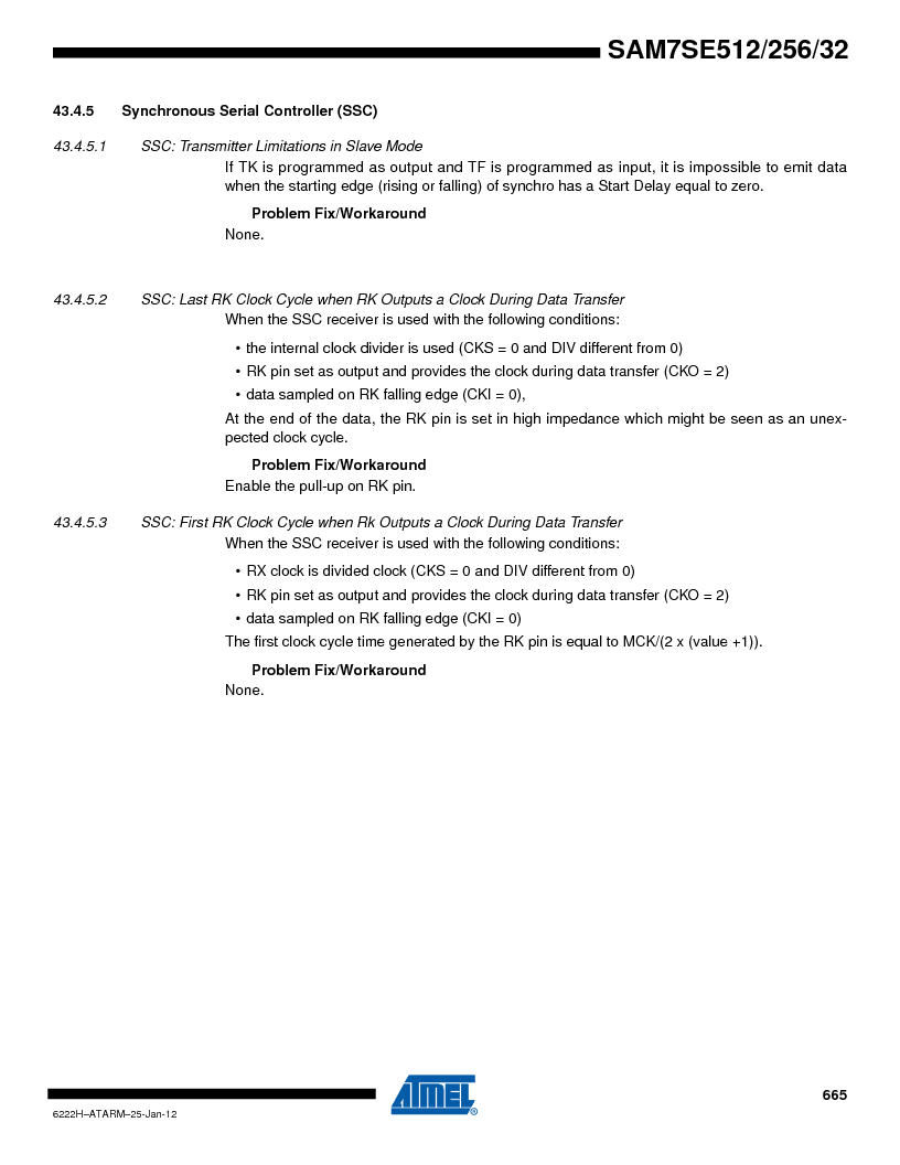 AT91SAM7SE256B-CUR ,Atmel厂商,IC ARM7 MCU FLASH 256K 128-LQFP, AT91SAM7SE256B-CUR datasheet预览  第665页