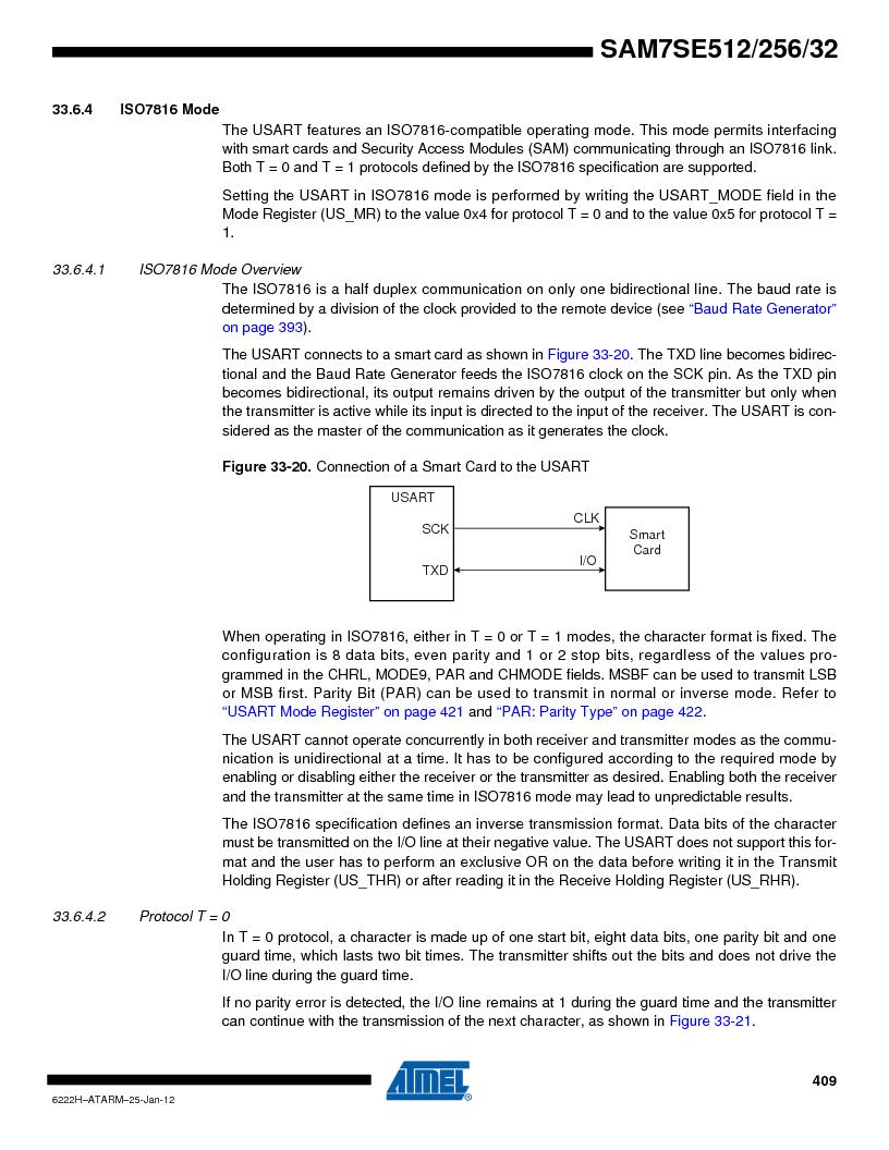 AT91SAM7SE512B-CUR ,Atmel厂商,IC ARM7 MUC FLASH 512K 144-LFBGA, AT91SAM7SE512B-CUR datasheet预览  第409页