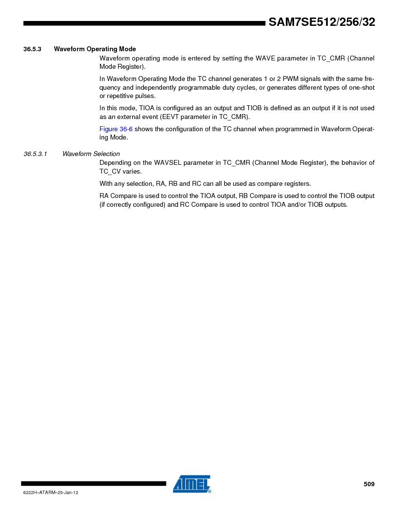 AT91SAM7SE512B-CUR ,Atmel厂商,IC ARM7 MUC FLASH 512K 144-LFBGA, AT91SAM7SE512B-CUR datasheet预览  第509页