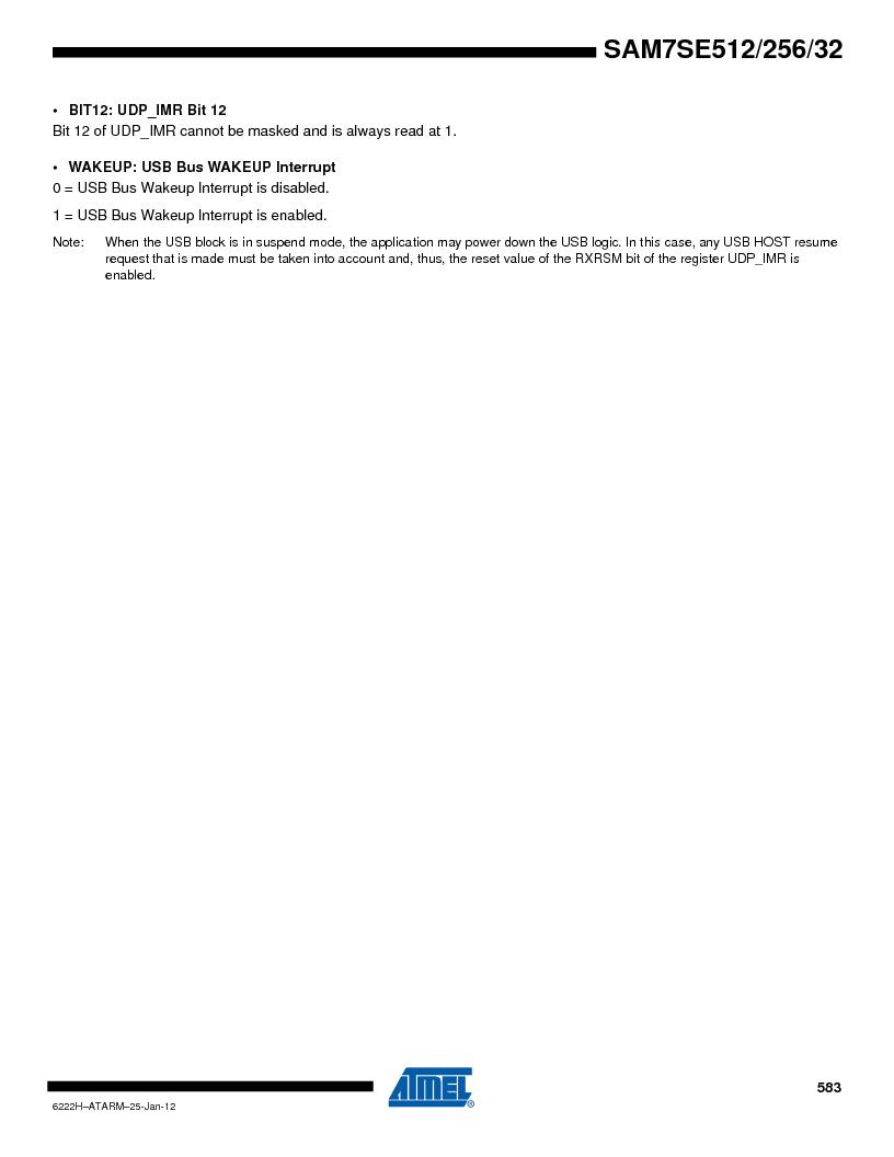 AT91SAM7SE512B-CUR ,Atmel厂商,IC ARM7 MUC FLASH 512K 144-LFBGA, AT91SAM7SE512B-CUR datasheet预览  第583页