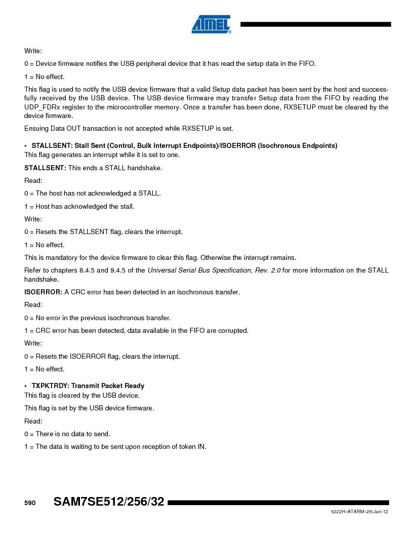 AT91SAM7SE512B-CUR ,Atmel厂商,IC ARM7 MUC FLASH 512K 144-LFBGA, AT91SAM7SE512B-CUR datasheet预览  第590页