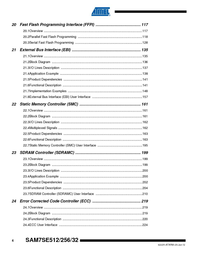 AT91SAM7SE512B-CUR ,Atmel厂商,IC ARM7 MUC FLASH 512K 144-LFBGA, AT91SAM7SE512B-CUR datasheet预览  第676页