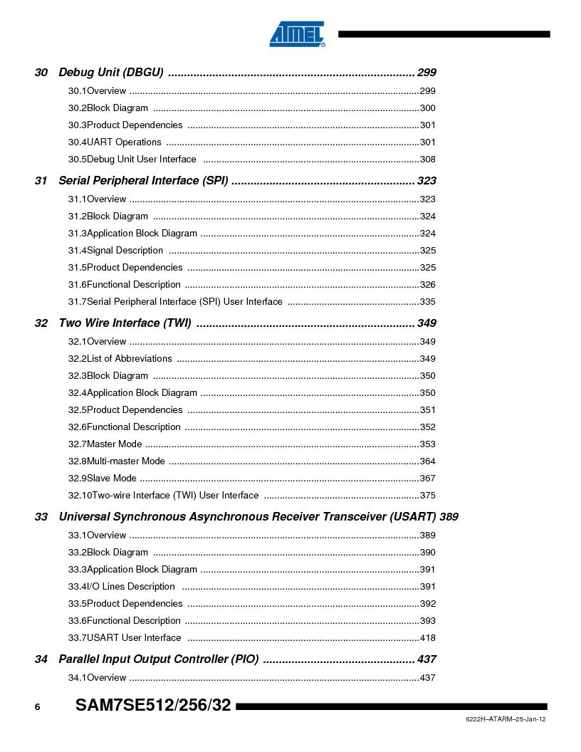 AT91SAM7SE512B-CUR ,Atmel厂商,IC ARM7 MUC FLASH 512K 144-LFBGA, AT91SAM7SE512B-CUR datasheet预览  第678页