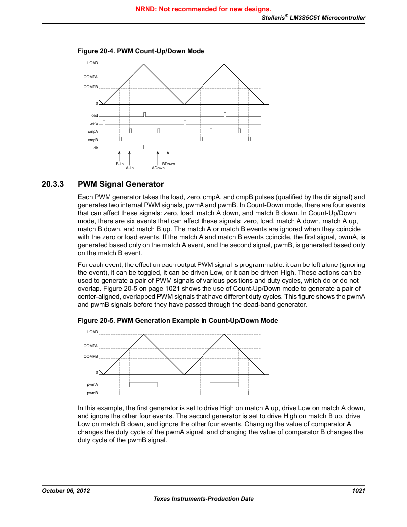 LM3S5C51-IBZ80-A1 ,Texas Instruments厂商,IC ARM CORTEX MCU 512KB 108NFBGA, LM3S5C51-IBZ80-A1 datasheet预览  第1021页