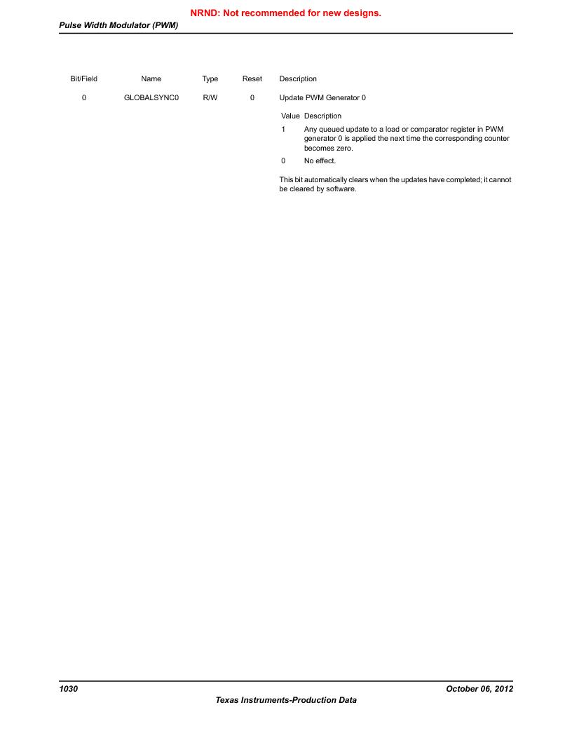 LM3S5C51-IBZ80-A1 ,Texas Instruments厂商,IC ARM CORTEX MCU 512KB 108NFBGA, LM3S5C51-IBZ80-A1 datasheet预览  第1030页