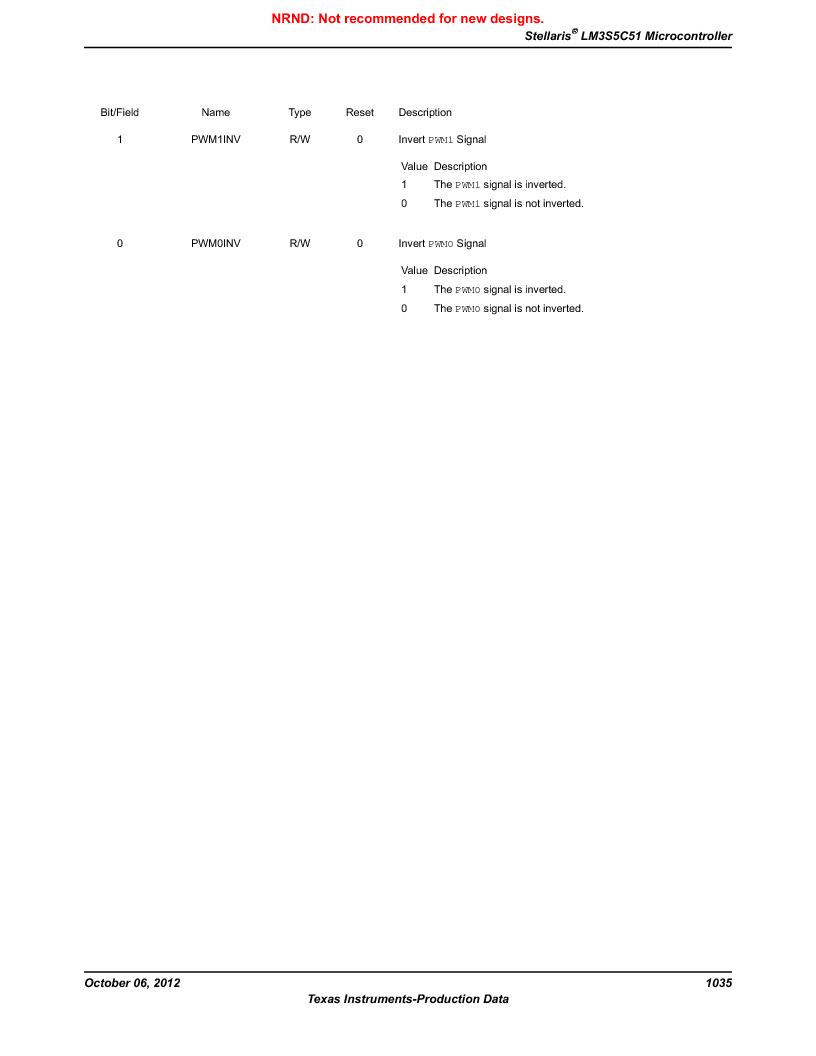 LM3S5C51-IBZ80-A1 ,Texas Instruments厂商,IC ARM CORTEX MCU 512KB 108NFBGA, LM3S5C51-IBZ80-A1 datasheet预览  第1035页