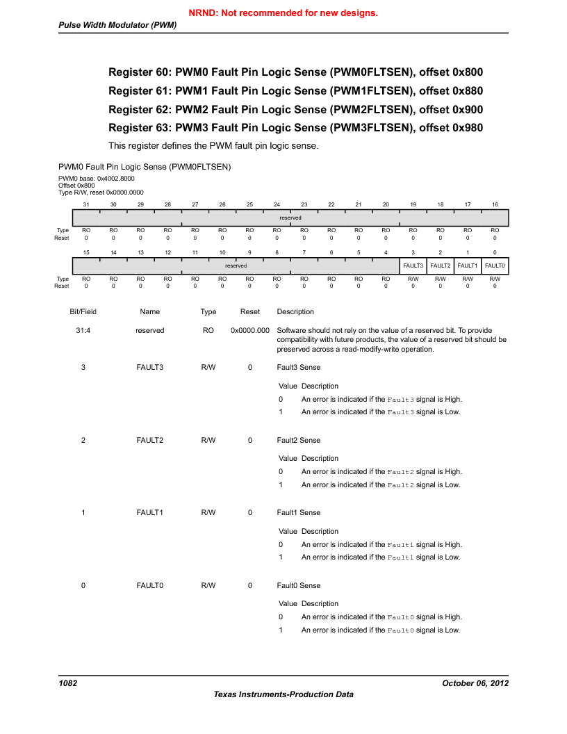LM3S5C51-IBZ80-A1 ,Texas Instruments厂商,IC ARM CORTEX MCU 512KB 108NFBGA, LM3S5C51-IBZ80-A1 datasheet预览  第1082页