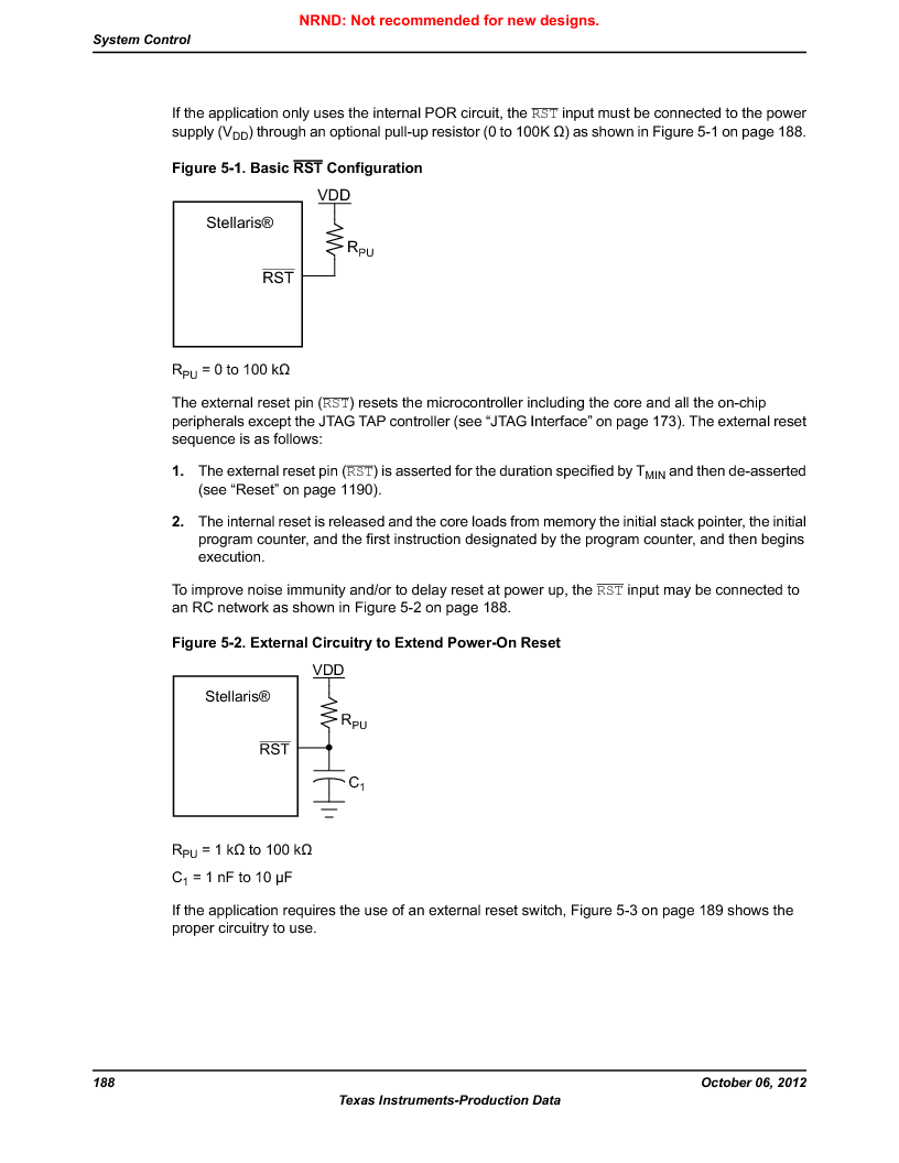 LM3S5C51-IBZ80-A1 ,Texas Instruments厂商,IC ARM CORTEX MCU 512KB 108NFBGA, LM3S5C51-IBZ80-A1 datasheet预览  第188页