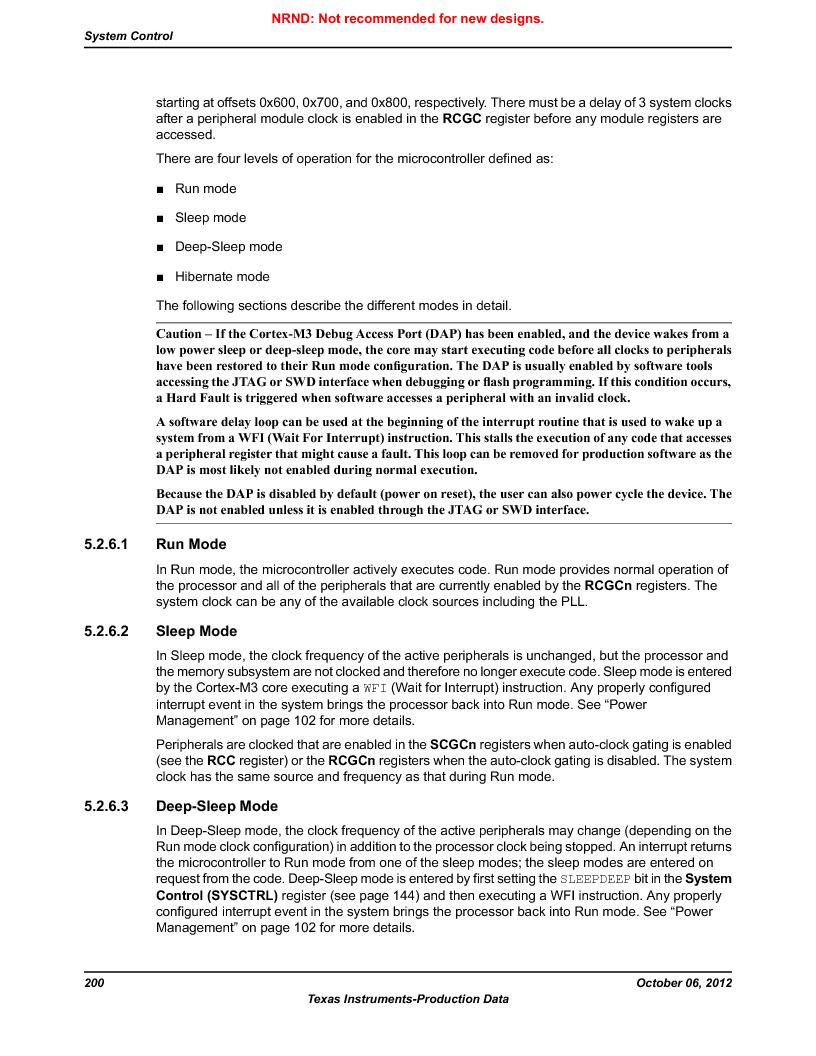 LM3S5C51-IBZ80-A1 ,Texas Instruments厂商,IC ARM CORTEX MCU 512KB 108NFBGA, LM3S5C51-IBZ80-A1 datasheet预览  第200页