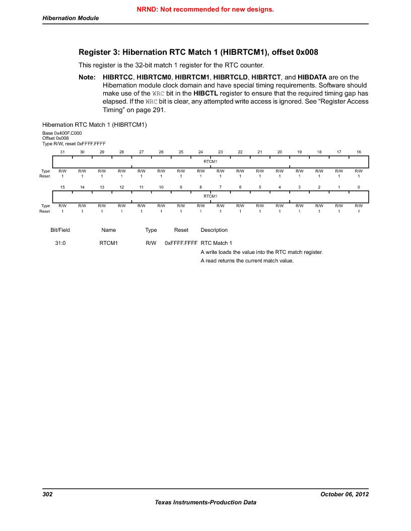 LM3S5C51-IBZ80-A1 ,Texas Instruments厂商,IC ARM CORTEX MCU 512KB 108NFBGA, LM3S5C51-IBZ80-A1 datasheet预览  第302页