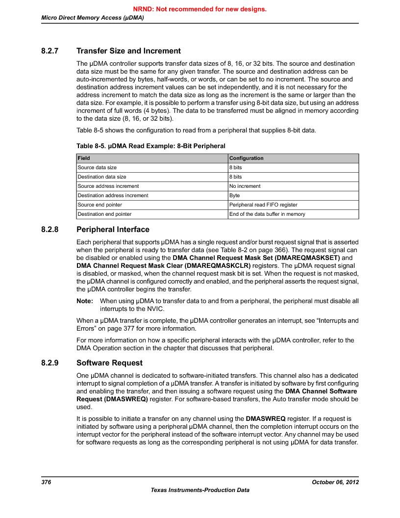 LM3S5C51-IBZ80-A1 ,Texas Instruments厂商,IC ARM CORTEX MCU 512KB 108NFBGA, LM3S5C51-IBZ80-A1 datasheet预览  第376页