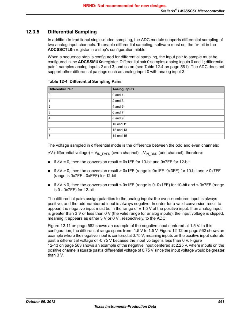 LM3S5C51-IBZ80-A1 ,Texas Instruments厂商,IC ARM CORTEX MCU 512KB 108NFBGA, LM3S5C51-IBZ80-A1 datasheet预览  第561页
