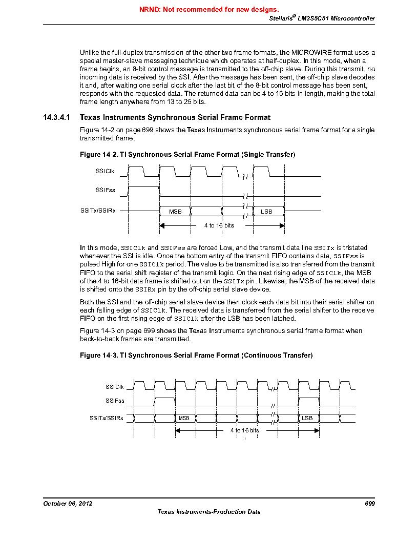 LM3S5C51-IBZ80-A1 ,Texas Instruments厂商,IC ARM CORTEX MCU 512KB 108NFBGA, LM3S5C51-IBZ80-A1 datasheet预览  第699页