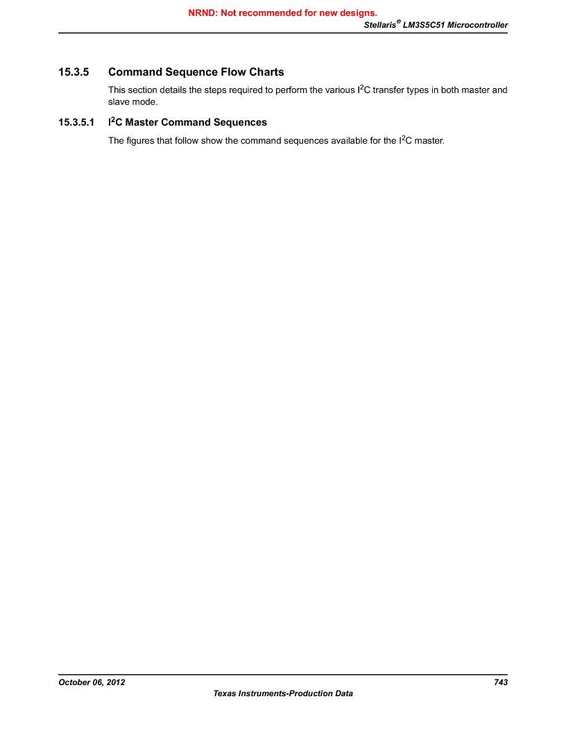 LM3S5C51-IBZ80-A1 ,Texas Instruments厂商,IC ARM CORTEX MCU 512KB 108NFBGA, LM3S5C51-IBZ80-A1 datasheet预览  第743页