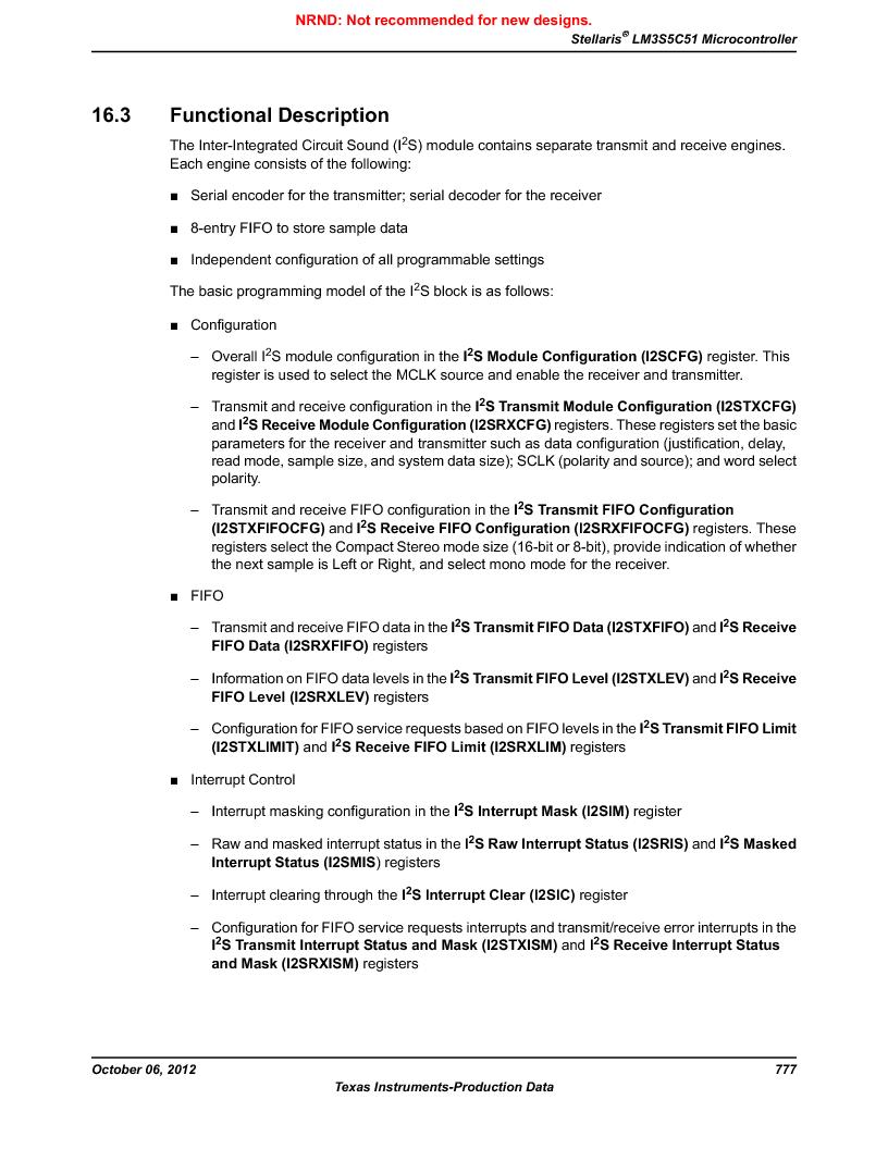 LM3S5C51-IBZ80-A1 ,Texas Instruments厂商,IC ARM CORTEX MCU 512KB 108NFBGA, LM3S5C51-IBZ80-A1 datasheet预览  第777页