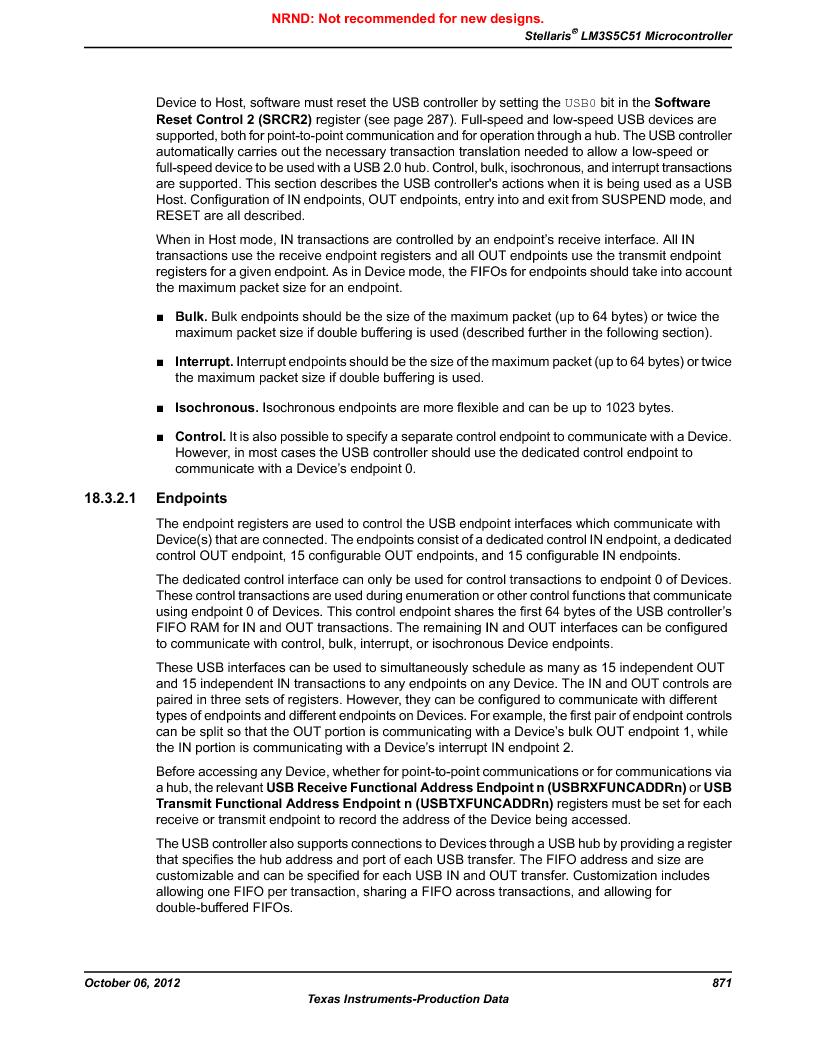 LM3S5C51-IBZ80-A1 ,Texas Instruments厂商,IC ARM CORTEX MCU 512KB 108NFBGA, LM3S5C51-IBZ80-A1 datasheet预览  第871页