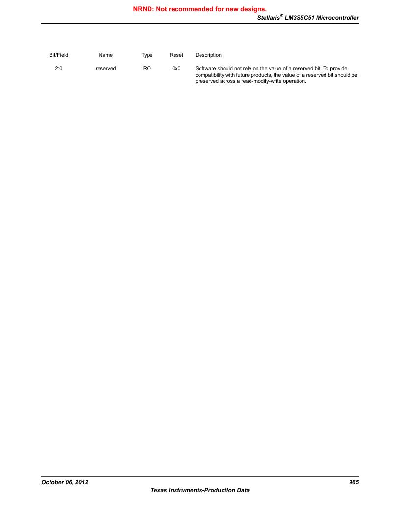 LM3S5C51-IBZ80-A1 ,Texas Instruments厂商,IC ARM CORTEX MCU 512KB 108NFBGA, LM3S5C51-IBZ80-A1 datasheet预览  第965页