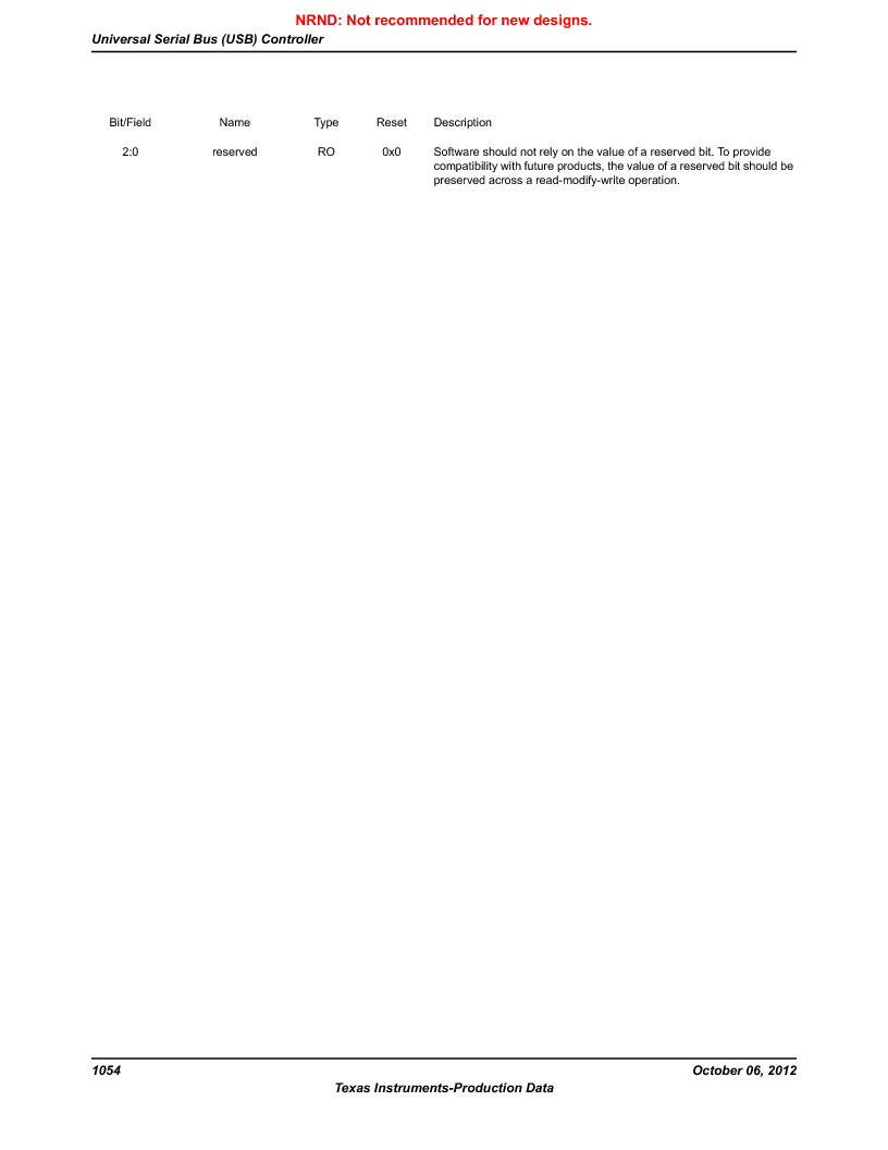 LM3S9BN6-IQC80-C3 ,Texas Instruments厂商,IC ARM CORTEX MCU 256KB 100LQFP, LM3S9BN6-IQC80-C3 datasheet预览  第1054页