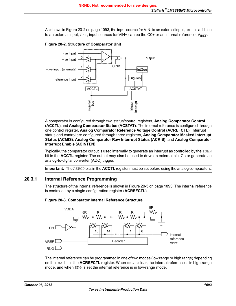 LM3S9BN6-IQC80-C3 ,Texas Instruments厂商,IC ARM CORTEX MCU 256KB 100LQFP, LM3S9BN6-IQC80-C3 datasheet预览  第1093页