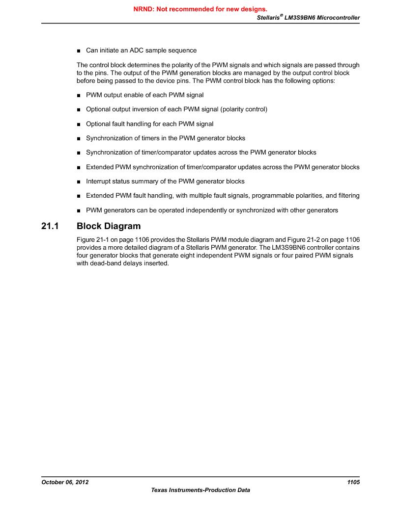 LM3S9BN6-IQC80-C3 ,Texas Instruments厂商,IC ARM CORTEX MCU 256KB 100LQFP, LM3S9BN6-IQC80-C3 datasheet预览  第1105页