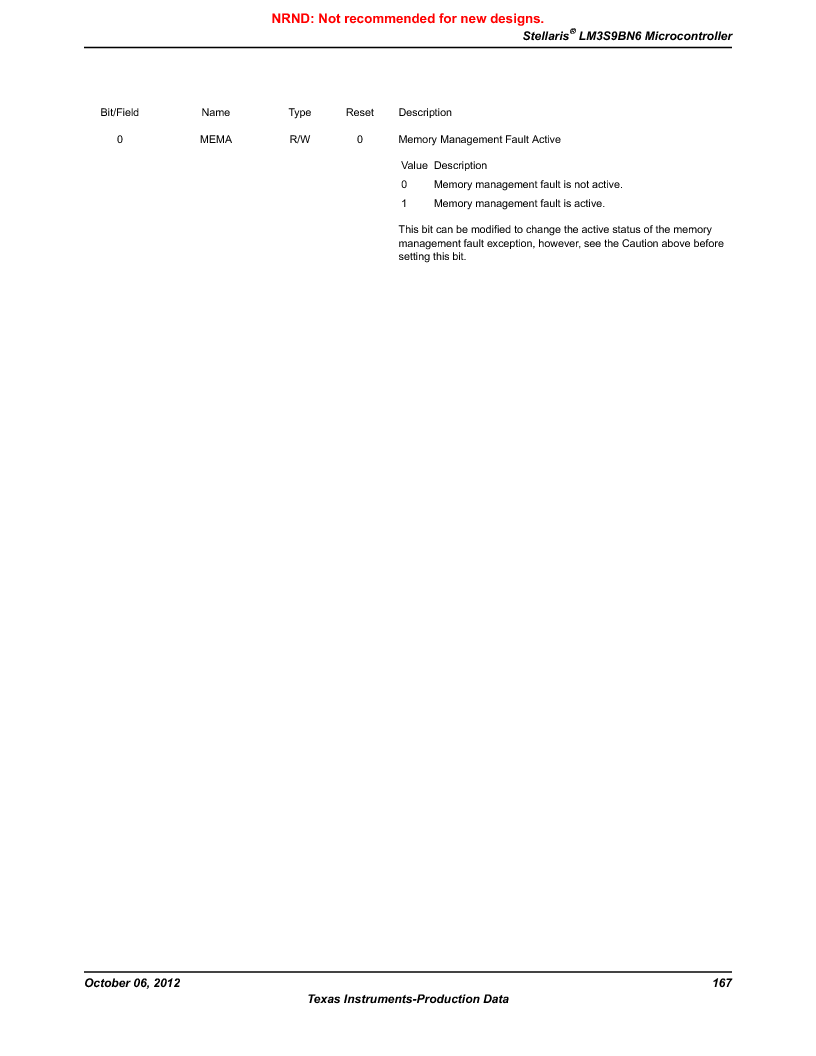 LM3S9BN6-IQC80-C3 ,Texas Instruments厂商,IC ARM CORTEX MCU 256KB 100LQFP, LM3S9BN6-IQC80-C3 datasheet预览  第167页