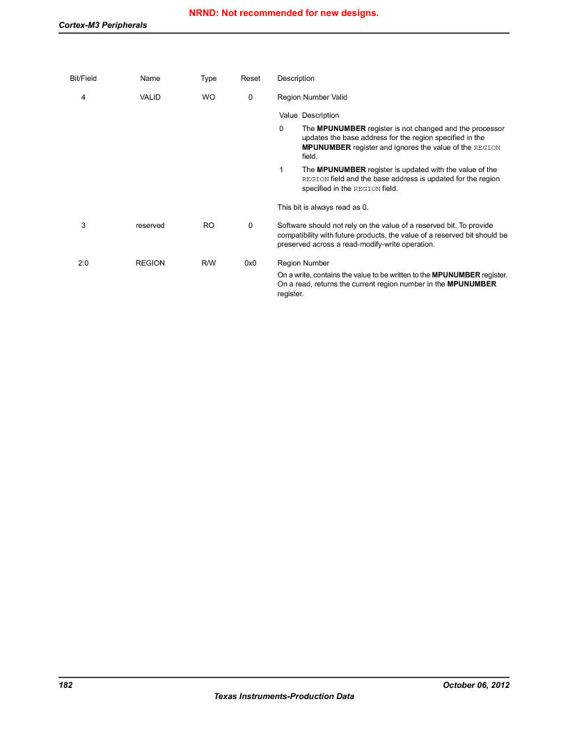 LM3S9BN6-IQC80-C3 ,Texas Instruments厂商,IC ARM CORTEX MCU 256KB 100LQFP, LM3S9BN6-IQC80-C3 datasheet预览  第182页