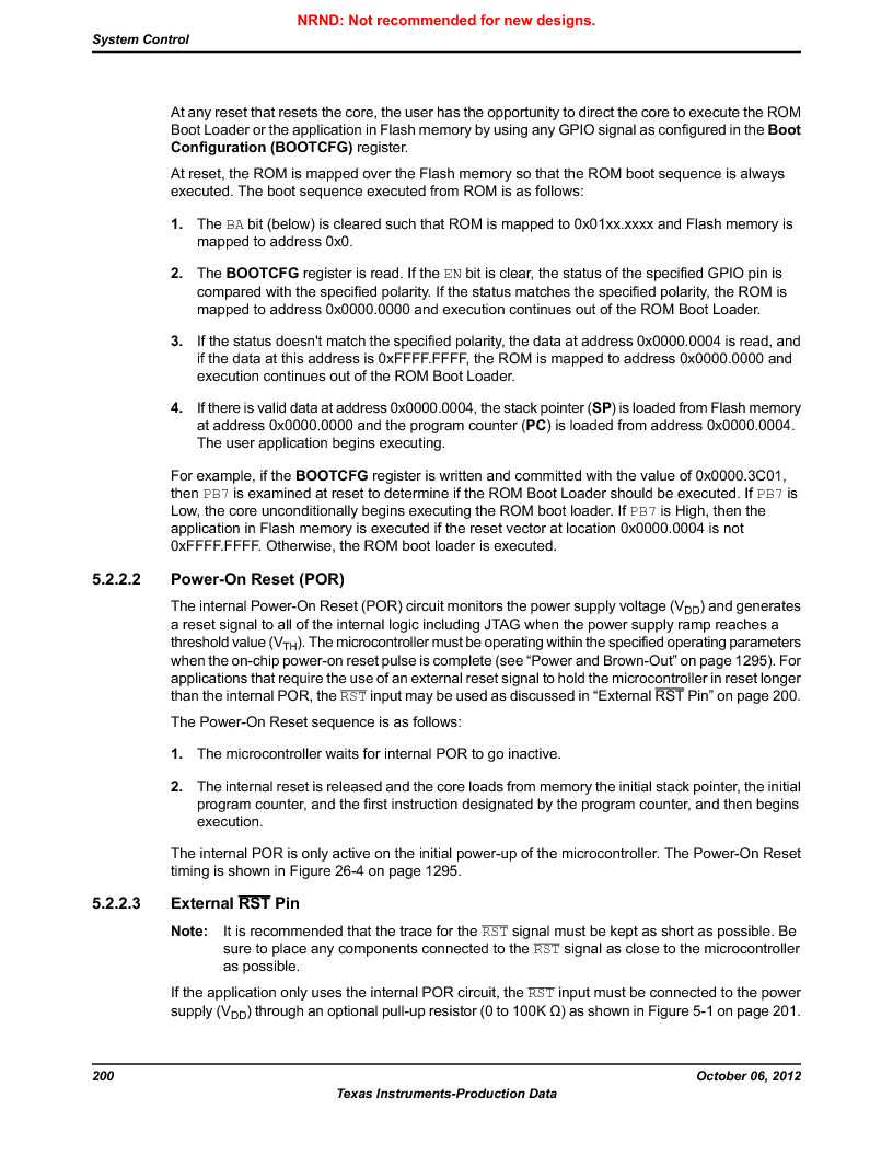 LM3S9BN6-IQC80-C3 ,Texas Instruments厂商,IC ARM CORTEX MCU 256KB 100LQFP, LM3S9BN6-IQC80-C3 datasheet预览  第200页