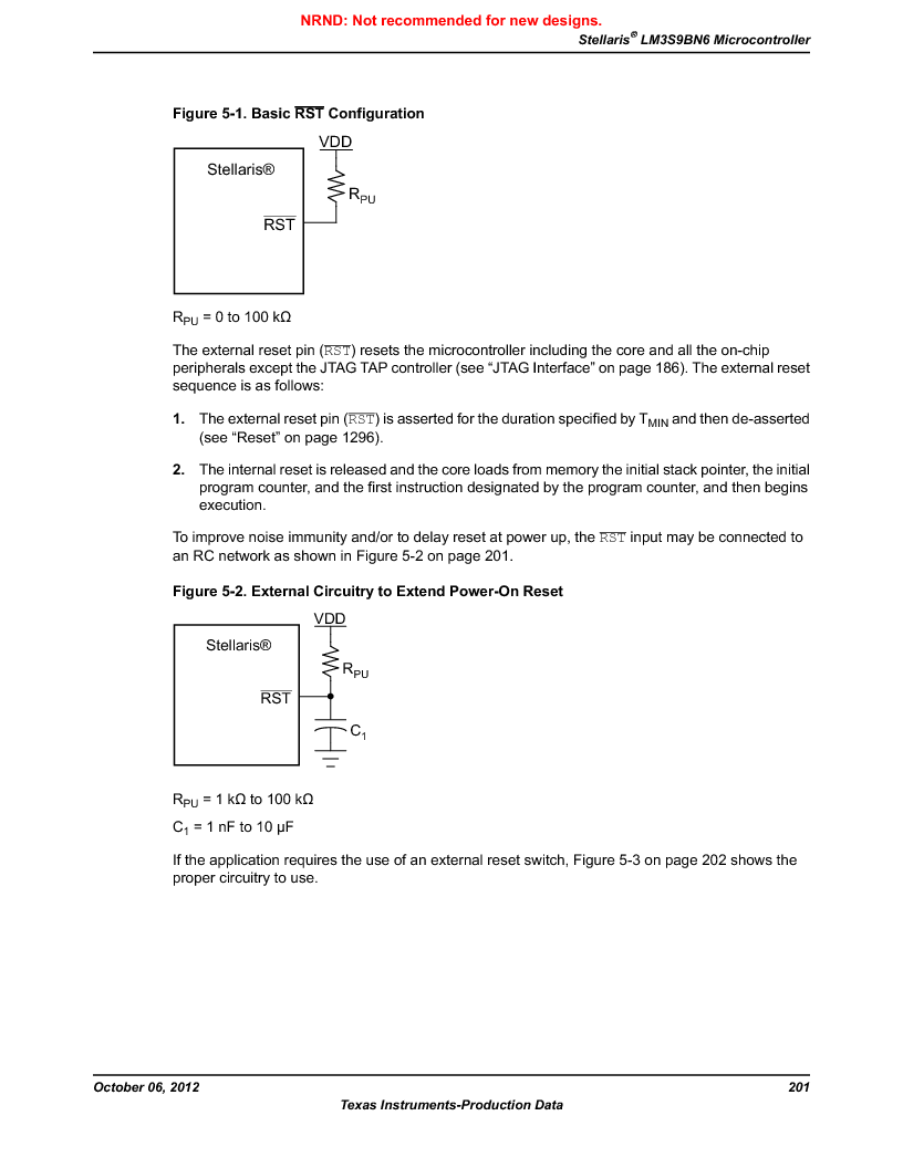 LM3S9BN6-IQC80-C3 ,Texas Instruments厂商,IC ARM CORTEX MCU 256KB 100LQFP, LM3S9BN6-IQC80-C3 datasheet预览  第201页