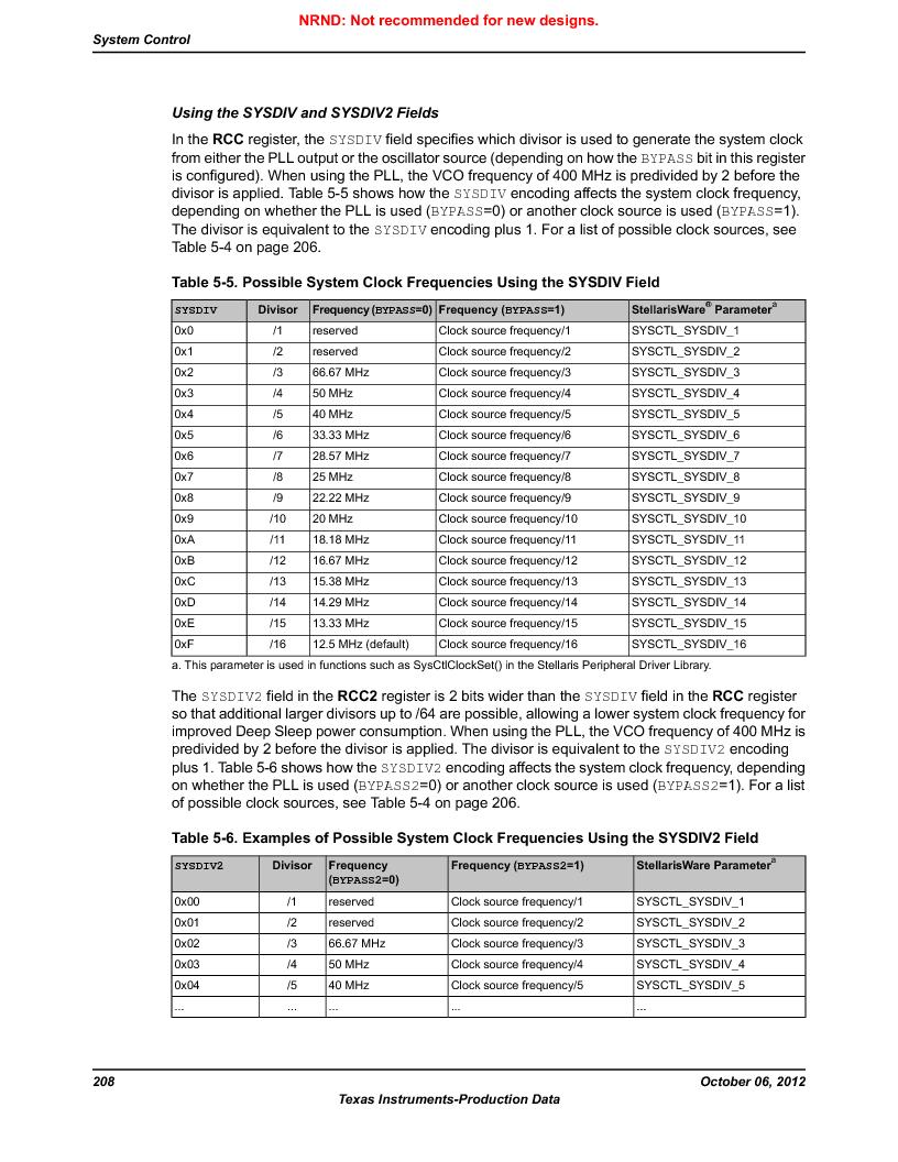 LM3S9BN6-IQC80-C3 ,Texas Instruments厂商,IC ARM CORTEX MCU 256KB 100LQFP, LM3S9BN6-IQC80-C3 datasheet预览  第208页